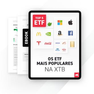 OS ETF MAIS POPULARES NA XTB